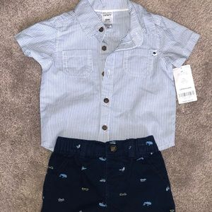 Size 6 Months Boys Outfit